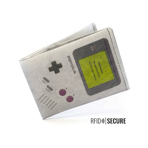 Paprcuts Geldbörse RFID Gameboy