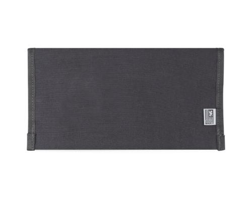 utility pouch large black back