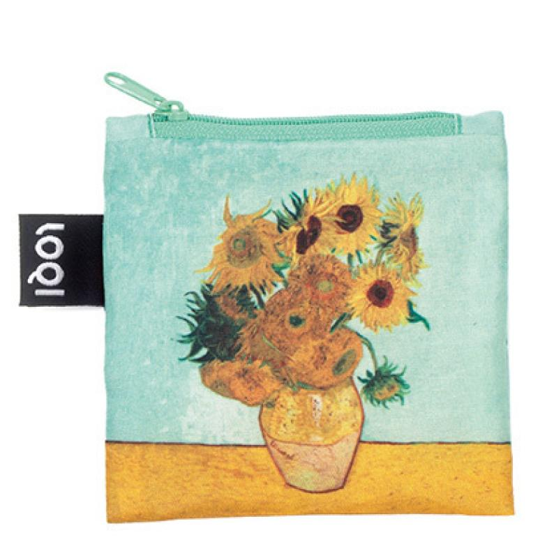 LOQI MUSEUM | VINCENT VAN GOGH Vase with Sunflowers Bag