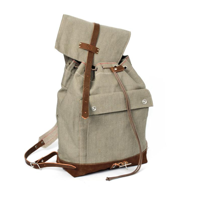 Hack Lederware Segeltuch Rucksack T83 | distel