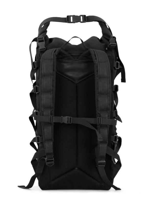 Braasi EVO II Rolltop Backpack Black