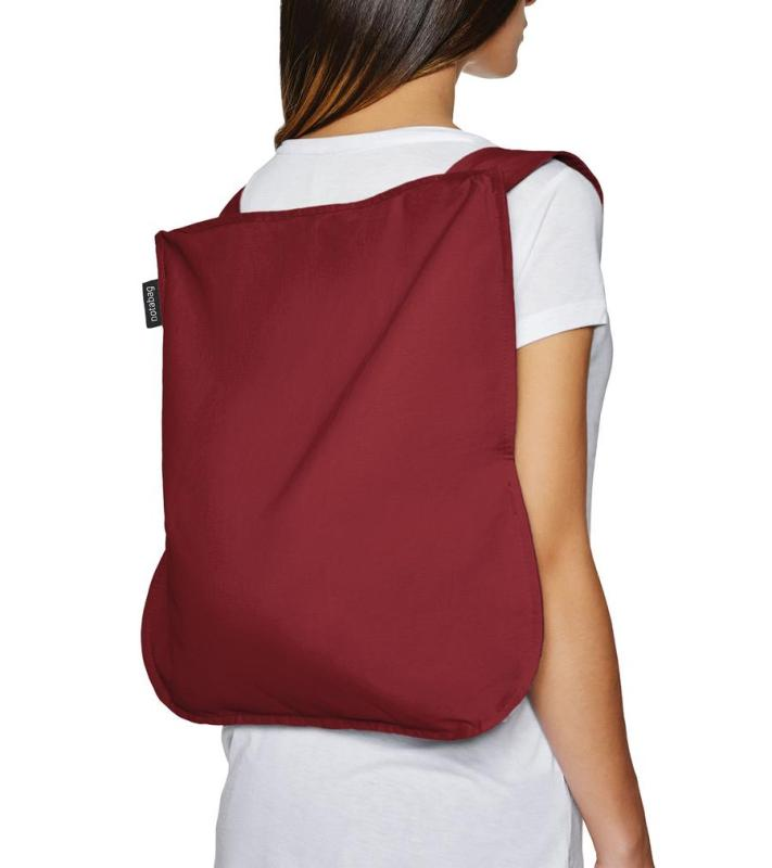 notabag Bag & Backpack - Wine Red