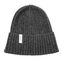Braasi Beanie 100% Lambswool. Dark Grey.