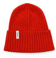 Braasi Beanie 100% Lambswool. Red.